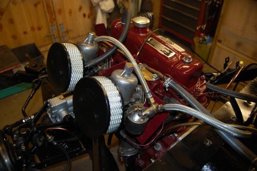 MGA 1500 engine.