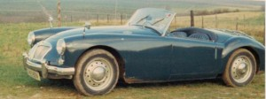 photo of mga 1500 roadster